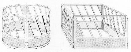 cattle hay feeder plans