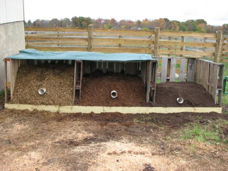 Multiple bin composting system