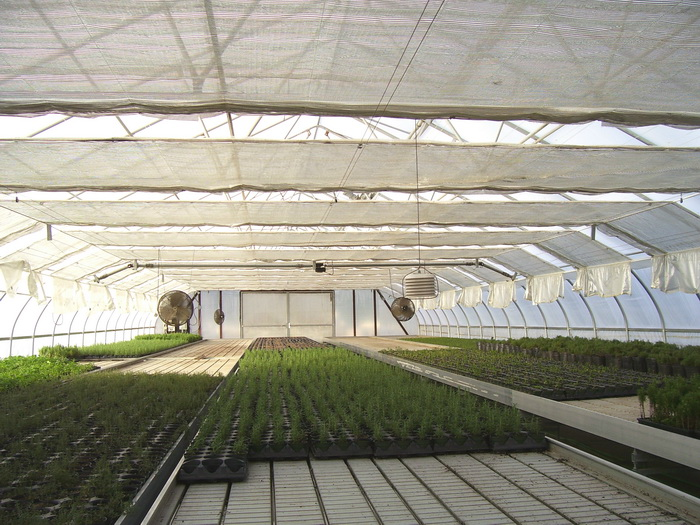 Greenhouse & Floriculture: Energy and Shade Screen Systems