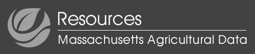 Massachusetts Agricultural Data mobile logo