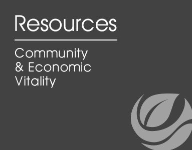 Community and Economic Vitality desktop logo