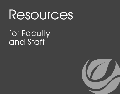 Faculty and Staff Resources desktop logo