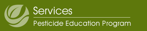 Pesticide Education mobile logo