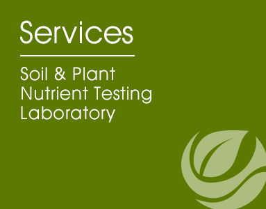Soil and plant nutrient testing laboratory soil and plant for Soil and plant lab