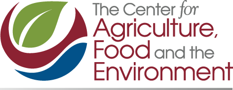 Center for Agriculture, Food and the Environment color logo