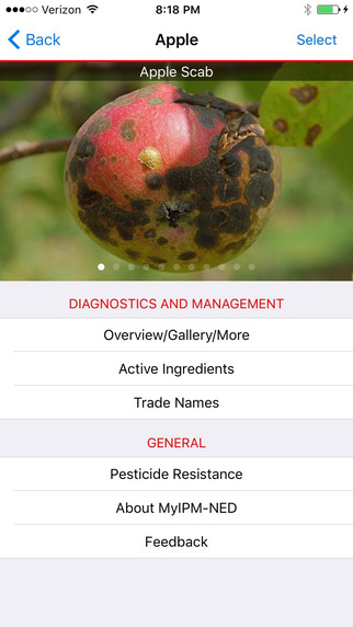 Clemson smartphone app series tackles fruit diseases and pests