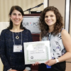 Stephanie DeLaBruere (L) with nominator Andrea Gulezian