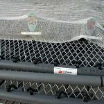 Under-bench heat system in greenhouse