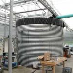 Rainwater Holding Tank (photo: Tina Smith, UMass Extension)