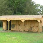 Wooden Lean To Shed