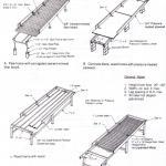 Figure 2. Greenhouse bench construction