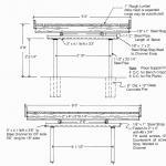 Figure 4. Movable bench plans
