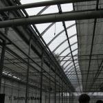 Energy curtain in greenhouse