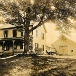 Wysocki house in the early 1920's.