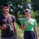 GardenShare: Jacob Harness and Chloe Rombach  help manage student-run gardens