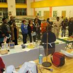 Brockton-Parents attend cooking workshop