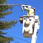 Greenfield switches out old street light bulbs for high efficiency LED bulbs