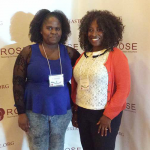 Vanessa Ford, CAFE summer scholar and Lindiwe Sibeko at ROSE conference