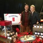 Red Door Farms attends Somerville market
