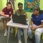 Jack Mulcahy trains students in Springfield, MA at Maker Space