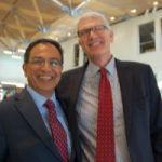 Chancellor Subbaswamy and Dean Goodwin