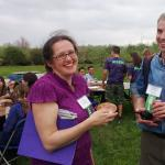 Britta Dempsey, Asst for Envirothon and Will Snyder, Mass Envirothon Steering Committee Chair