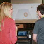 Savvy Society co-founder, Alexa Fleischman teaches CAD design to 4-H