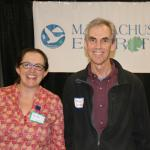 Brita Dempsey and Will Snyder, key organizers of MA Envirothon