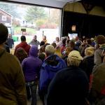 Audience at Dighton workshop