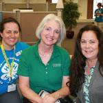 Kim Pond, Laurie Flanagan & Kerry Bickford: 45 years of 4-H leadership