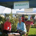 Mahoney's landscaping booth