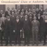 """1927 """"The Greenkeepers' Class' at Amherst-Mass Agricultural College"""