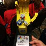 Trophy for 2nd place in mechanical design at World Festival