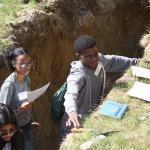 Soil tests at MA Envirothon
