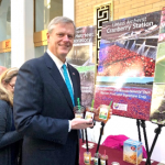 Governor Baker stops by the CAFE booth at Ag Day 2019