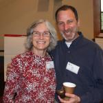 Lisa Sullivan Werner and Bill Miller finding ways to work together