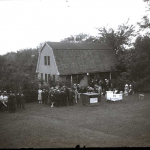 Demonstration at College Apiary, 1922.