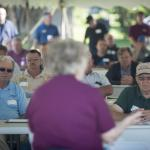 Turf Field Day 2017: Mary Owen makes welcoming remarks