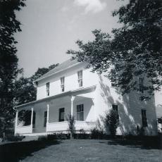 Wysocki house, 1961.