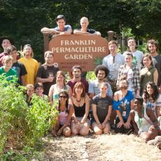 Permaculture Gardens at Franklin Dining Common