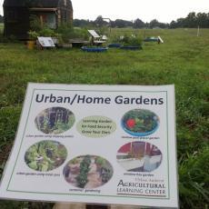 Agricultural Learning Center-Urban Garden Demonstration