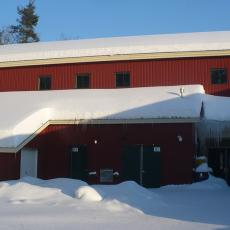 Warwick School after remediation of ice dams