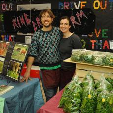 Amherst Farmers' Market  Photo: Jason Threlfall