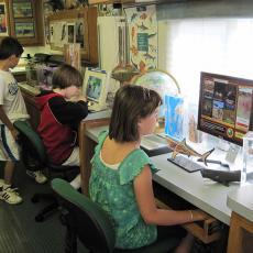 Coastal Explorer inside classroom