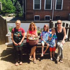Hedges School, Plymouth, hosts community family tour of gardens