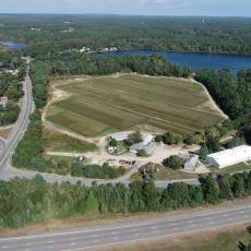 UMass Cranberry Station  from the air