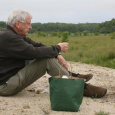 Evan Schulman, former co-owner of Tidmarsh Farm, contemplates wetland restoration efforts