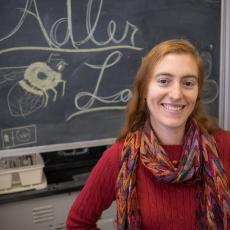 Lynn Adler, professor of biology, UMass