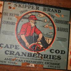 Former cranberry business label Skipper brand