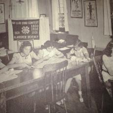 Essex County Extension Sewing Class 1930's